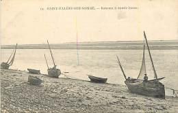 80 SAINT VALERY SUR SOMME - Bateaux à Marée Basse - Saint Valery Sur Somme