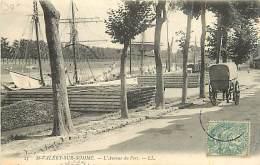 80 SAINT VALERY SUR SOMME - L'Avenue Du Port - Saint Valery Sur Somme