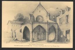 VILLEFRANCHE Ancienne Chartreuse Dessin De Pernot (SI Aveyron) Aveyron (12) - Villefranche De Rouergue