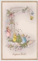Carte Joyeux Noel  Anges  , Sapin , Cadeaux - Sin Clasificación