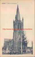 Kerk En Standbeeld Jabbeke - Jabbeke