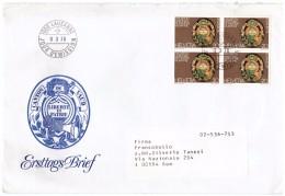 STORIA POSTALE - HELVETIA - SVIZZERA - ANNO 1978 - LAUSANNE - ERSTTAGS BRIEF -  EXPOSITION NATIONALE DE PHILATELIE - - Poststempel