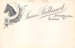61-ALENCON- LUCIEN BELLESSORT, MARCHAND DE CHEVAUX ET ELEVEUR - Alencon