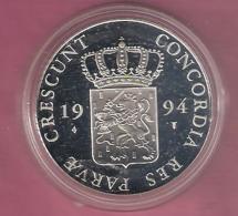 DUKAAT 1994 GRONINGEN AG PROOF - [ 5] Monnaies Provinciales