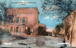 CPA  CHATEAUNEUF LES MARTIGUES LA MAIRIE - France