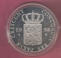 DUKAAT 1998 FRIESLAND AG PROOF - [ 5] Monnaies Provinciales