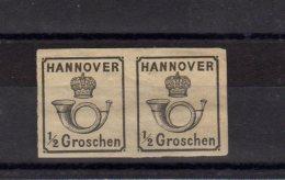 Allemagne -  Hannover_   1 Paire 1/2 Groschen _  (1859) - Hanover