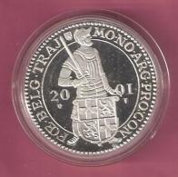 DUKAAT 2001 UTRECHT AG PROOF - [ 5] Monnaies Provinciales