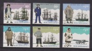 Ross Dependency 1995 Explorer & Their Ship Set 6 MNH - Unclassified