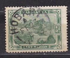 TASMANIE - N°Y&T -  67 - 1/2p  Vert    - Lac Marion - - Oblit  Cad - Autres - Océanie
