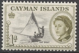Cayman Islands. 1962-64 QEII. 1d MNH. SG 166 - Cayman Islands