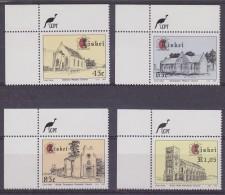 Ciskei 1993 Churches 4v (corner) ** Mnh (32106) - Ciskei