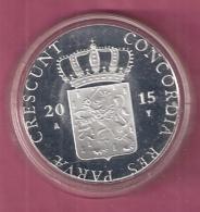 DUKAAT 2015 NOORD BRABANT AG PROOF - [ 5] Monnaies Provinciales
