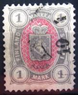 FINLANDE             N° 25              OBLITERE - 1856-1917 Russian Government