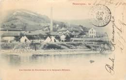 France - 25 - Besançon - Les Soieries De Chardonnet Et La Baignade Militaire - Besancon