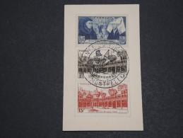 FRANCE - Enveloppe De Montpellier De La Journée Du Timbre En 1943 ( Format Carte De Visite) - A Voir - L 2181 - 1921-1960: Modern Period
