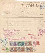 Andenne - Photo Artistique & Industrielle - Pinon Léo (1951, Timbres Fiscaux) - Belgique