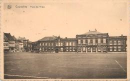 COURCELLES -Place Des Trieux. - Courcelles