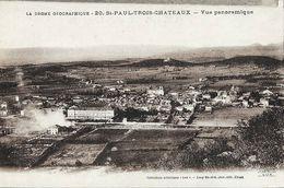 St-Paul-Trois-Châteaux (Drôme) - Vue Panoramique - Collections Artistiques Lux - Edition Lang Fils Ainé, Non Circulée - France