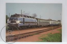 Train Topic Postcard - Railway Of Saintes - Royan To Saujon . Locomotive CC 65001 - Trenes