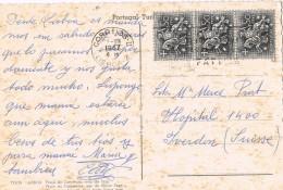19242. Postal LISBOA (Portugal) 1967. Vista Rio Tajo - 1910-... República