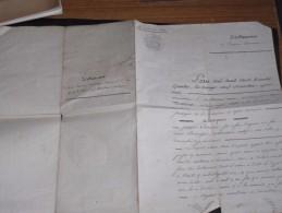 AUBAGNE-BOUCHES DU RHONE-29/12/1834-TESTAMENT DE CAMOIN Jacques, Par Notaire Michel MARTINOT - Vieux Papiers