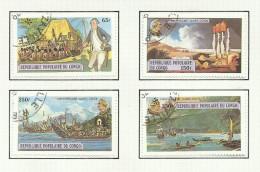 Congo N°534 à 537 Cote 3.10 Euros - Congo - Brazzaville