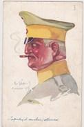 Illustrateur Emile Dupuis Militaire WW1  Leurs Caboches Mulhouse 1914 Inspecteur De Cavalerie Allemand Cigare N°35 - Dupuis, Emile