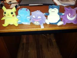 LOT DE 5 FIGURINES POKEMON ORIGINALES - Pokémon
