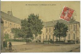 REMIREMONT - L´ Abbaye Et Le Jardin - (carte Toilée, Colorisée) - Remiremont