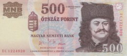 (B0426) HUNGARY, 2006. 500 Forint. Commemorative Issue. P-194. UNC - Hungría