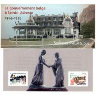 Bloc Souvenir N°110 - Le Gouvernement Belge à Sainte-Adresse - Souvenir Blokken