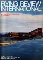 Flying Revue International APRIL 1968 - Transports