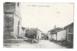 VERJON (01) Quartier De L'église Rue - France