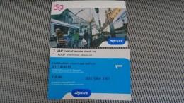 Bus Ticket From Amsterdam - Holland - Fahrkarte - Transportation