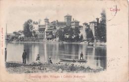 Italy Torino Esposizione1884, Villaggioe Castello Medioevale  Stengel & Co. Dresden - Ausstellungen