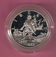 USA $ 0,50 1992S PROOF COLUMBUS 500TH ANN. - Émissions Fédérales