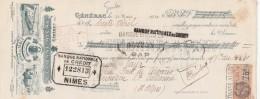 Lettre Change 31/3/1930 ETIENNE ALCAY Vins GENERAC Gard Pour Briançon Ste Catherine Hautes Alpes - Lettres De Change