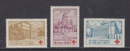 Finland 1932 Red Cross 3v ** Mnh (32121) - Neufs