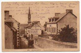 29 - Finistère / PLOMODIERN -- Rue De Châteaulin. - Plomodiern