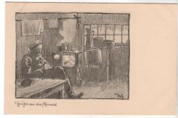 Nr. 7609,  Grüße Aus Der Heimat - Guerre 1914-18