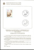 IB I16---  ITALIA REPUBBLICA,   BOLLETTINO INFORMATIVO FILATELICO,   AMADEUS   MOZART,    1991, - Music