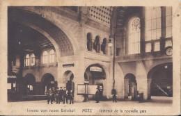 METZ - Intérieur De La Nouvelle Gare- - Metz