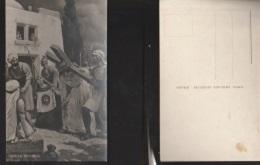 7209) GESU' E VERONICA VIA CRUCIS NON VIAGGIATA 1935 CIRCA - Jésus