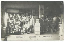 LAUBAN (Pologne, Silésie) Camp De Prisonniers Guerre 14-18 - Le Comité De Secours - Animée - Guerre 1914-18