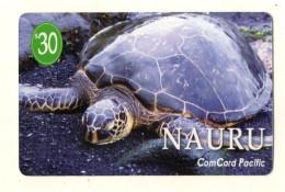 TELECARTE NAURU Tortue De Mer Sea Turtle - Nauru
