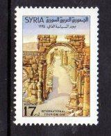 1994 Syria Tourism Day Complete Set Of 1 MNH - Siria