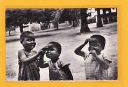 AFRIQUE - CONGO-BRAZZAVILLE - CONGO FRANCAIS - CPSM - Kindamba - Congo Français - Animation D'enfants - Congo Français - Autres