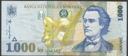 Romania, 1000 Lei, 1998. - Romania