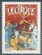France, EUROPA 2002, Circus, 2002, MNH VF - Frankrijk